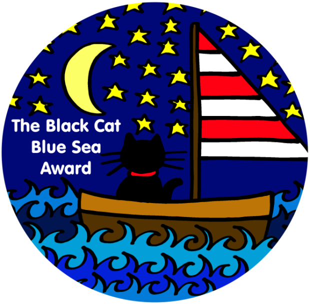 Black Cat Blue Sea