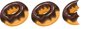 2-5 donuts